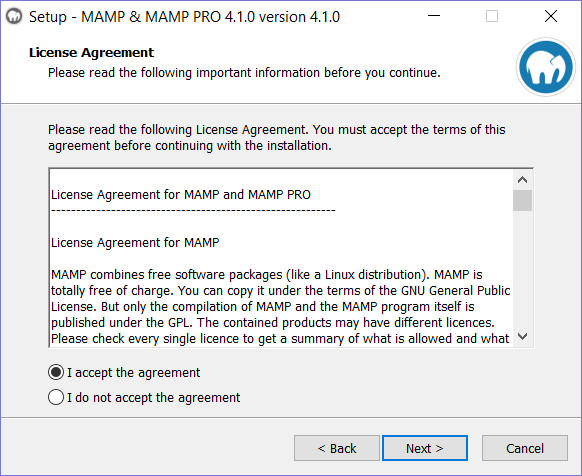 AMP Installation step 3