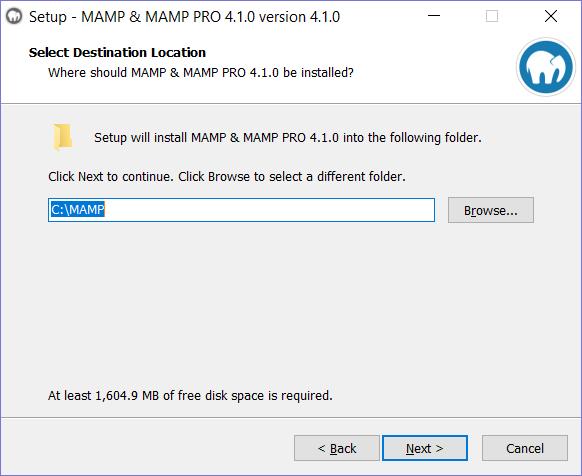 AMP Installation step 4