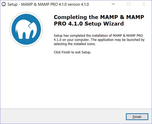 AMP Installation step 6