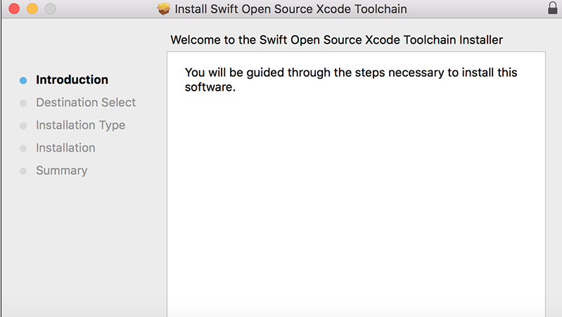 install Swift Step 2