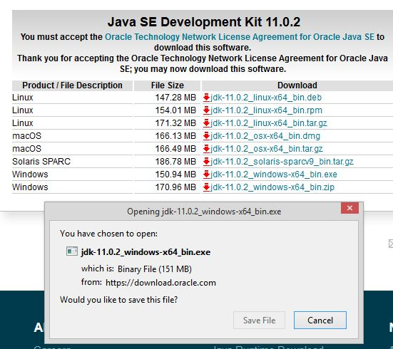 Java 8 Installation step 5-2