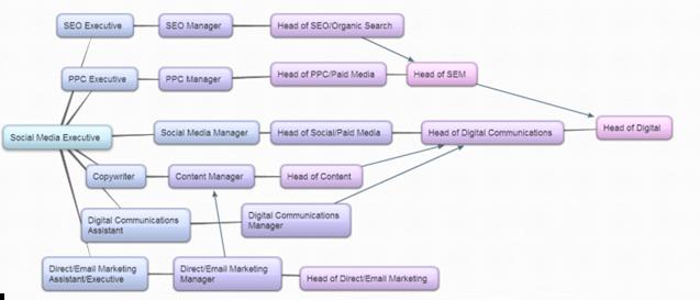 social media career path