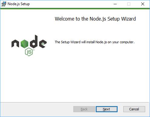 Node.js Installation Step 3