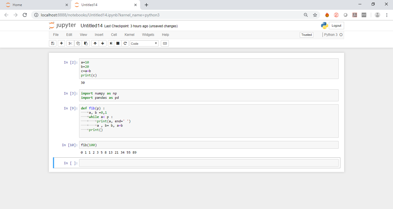 Jupyter example 3