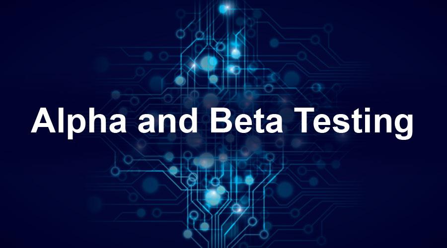 Alpha-and-Beta-Testing