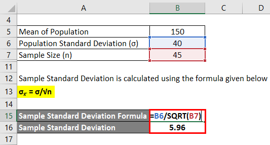 Sample Standard Deviation 3