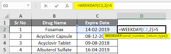 Conditional Formatting For Dates Example 2-1