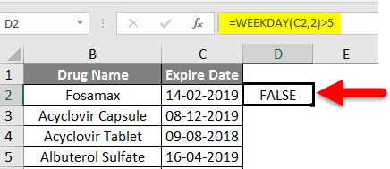 Conditional Formatting For Dates Example 2-2