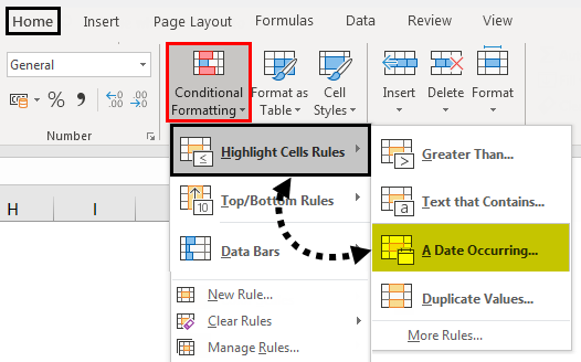 Conditional Formatting For Dates Path 1-1