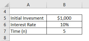 Daily Compound Interest Formula Example 1-1