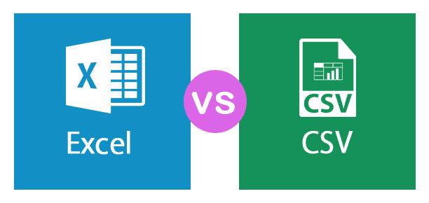 Excel vs CSV
