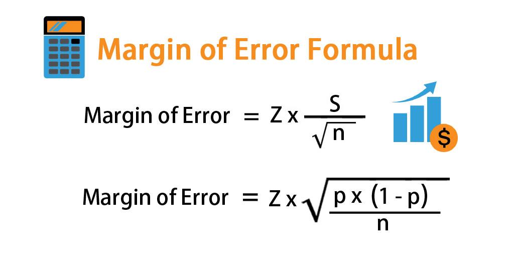 Margin of Error Formula | Calculator (Excel Template)