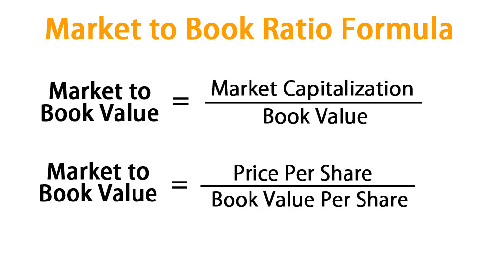 Market to Book Ratio Formula