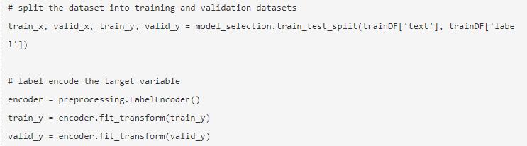 NLP in Python 11