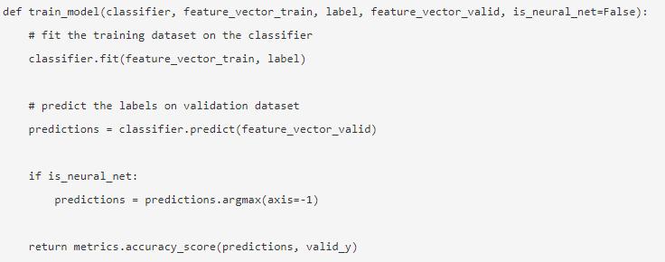 NLP in Python 17