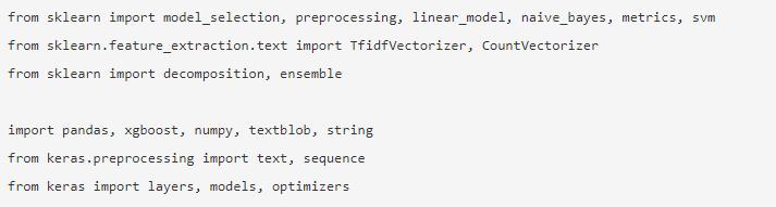 NLP in Python 9