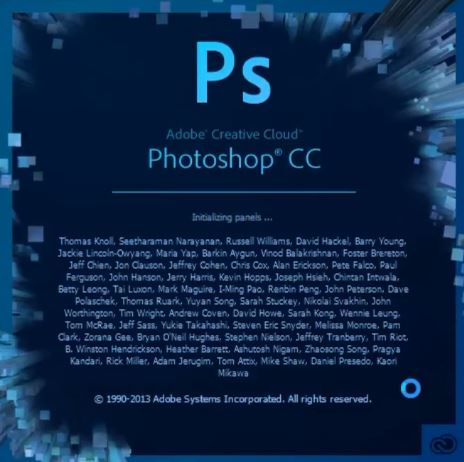 install adobe photoshop application
