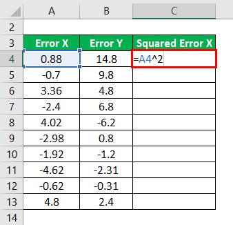 R - Squared Formula Example 1-2