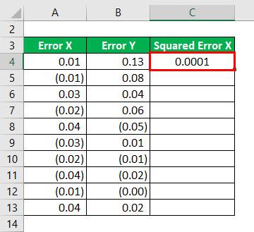 R - Squared Formula Example 2-3