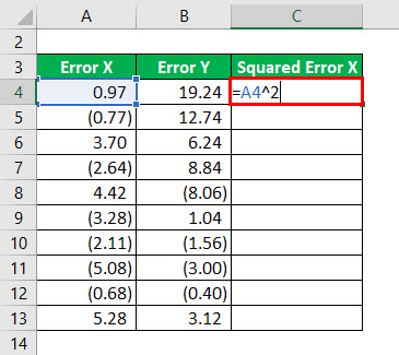 R - Squared Formula Example 3-2