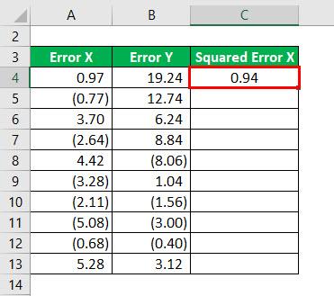 R - Squared Formula Example 3-3