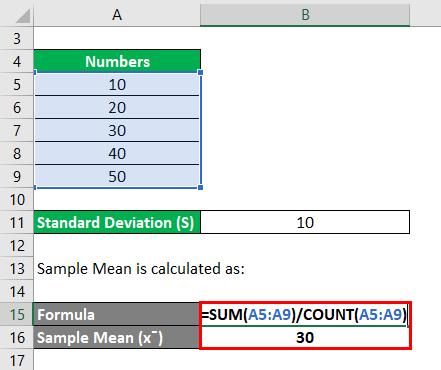 RSD Formula Example 2-2