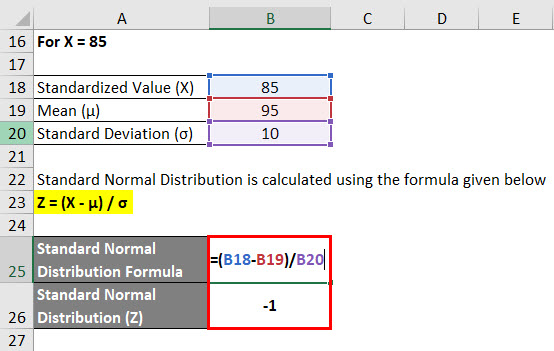 Calculation of Example 3-2