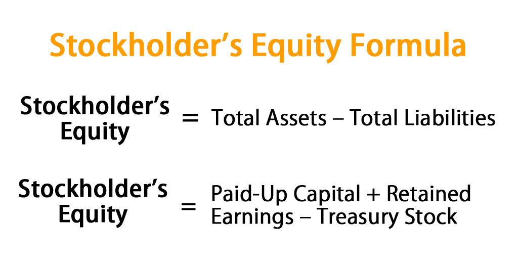 Stockholder's Equity Formula