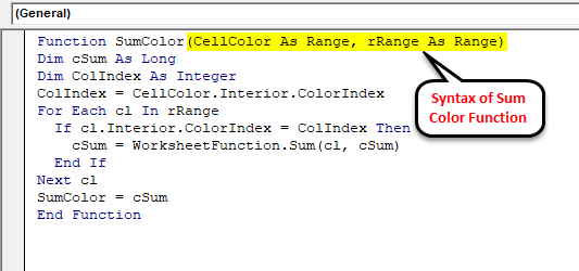 Sum by Color in Excel (Examples) | How To Sum By Colors in Excel?