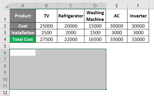 Transpose Formula Example 2-2