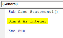 VBA Case Example 1-3