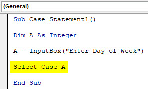 VBA Case Example 1-5