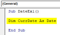 VBA Date Example 1-3