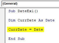 VBA Date Example 1-4