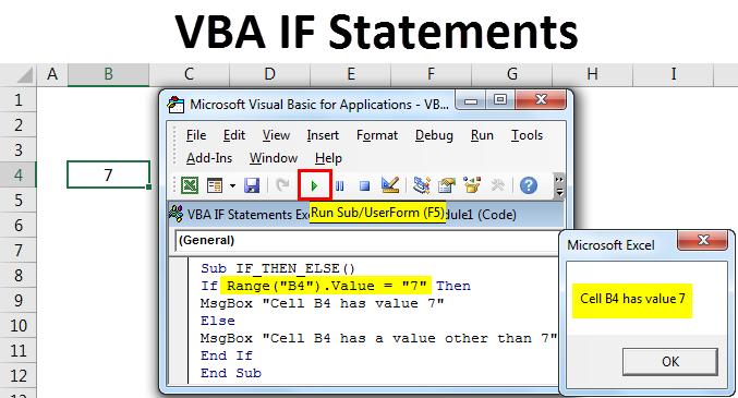 VBA IF Statements