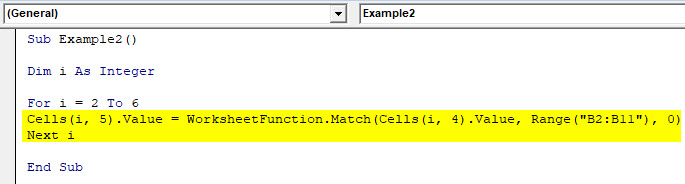VBA Match Function | How to use Excel VBA Match Function?