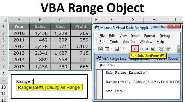 VBA Range