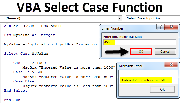 VBA Select Case Function