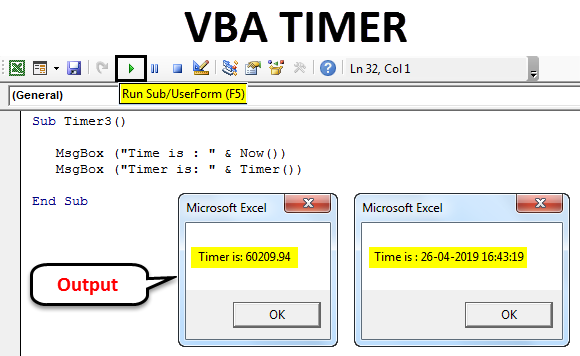 Excel VBA TIMER | How to Use VBA TIMER Function?