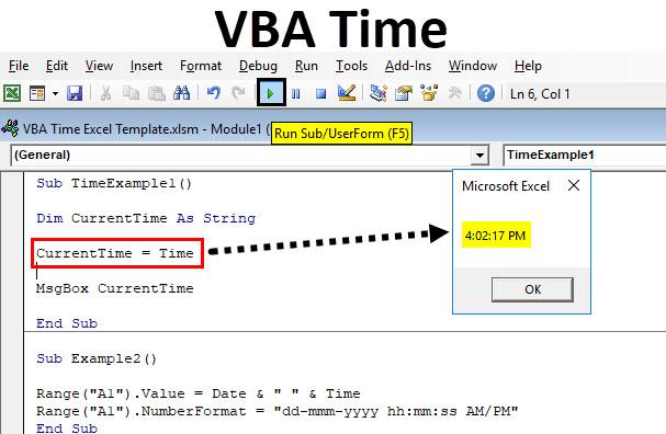 VBA Time