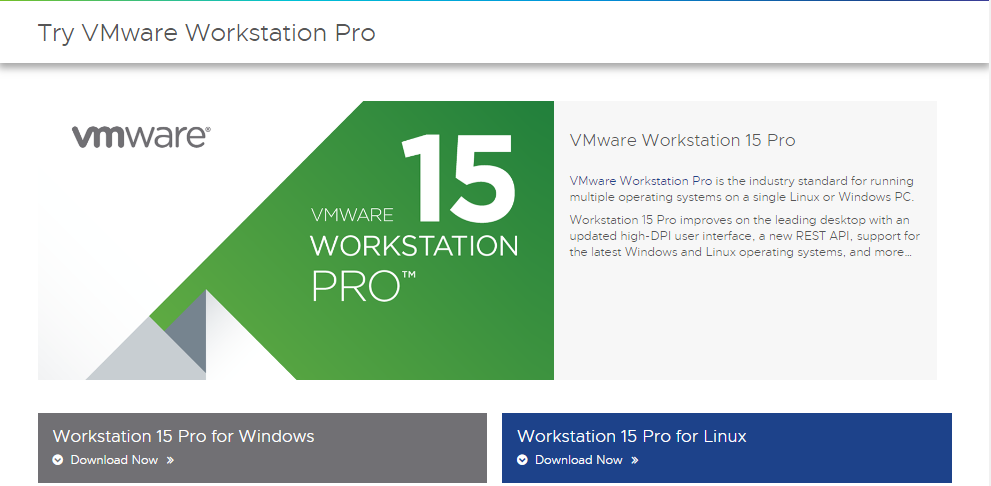 VMware Workstation pro for demo purpose