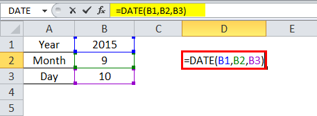 date formula example 2-2