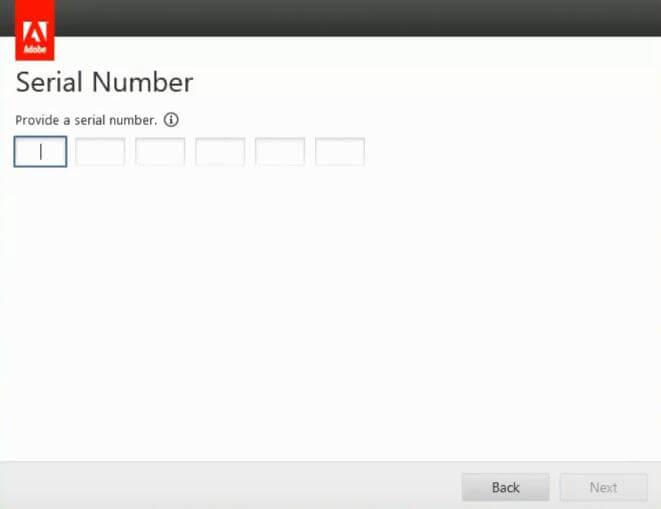 numerical serial number 1