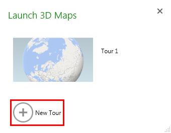 3D map launcher