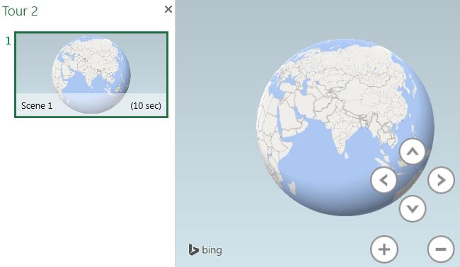 3D map (power map)
