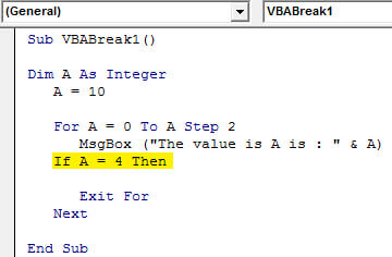 VBA IF condition