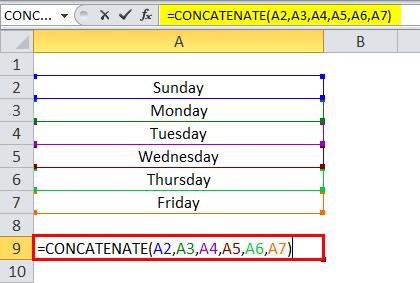 Concatenate Example 3-2
