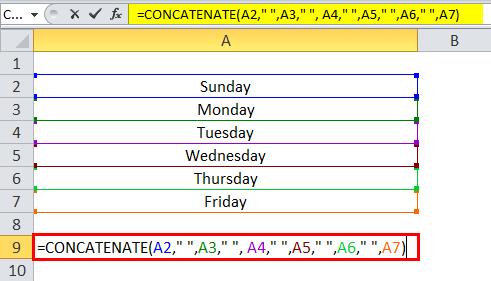 Concatenate Example 3-4