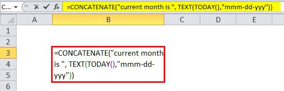 Concatenate year Example 4-5