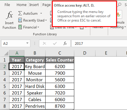 Create Pivot Table from Multiple Sheets 4